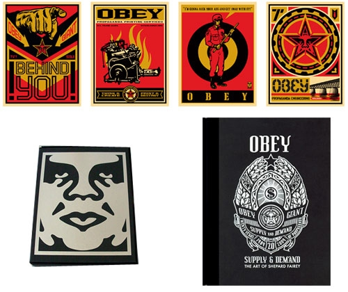 Obey: Supply & Demand Boxed Set The Art of Shepard Fairey ...